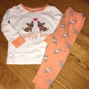 Gymboree 18-24 month chihuahua pajamas